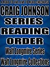 CRAIG JOHNSON: SERIES READING ORDER: A READ TO LIVE, LIVE TO READ CHECKLIST [WALT LONGMIRE]