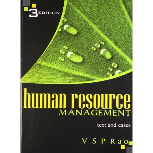 Human Resource Management by V S P  Rao