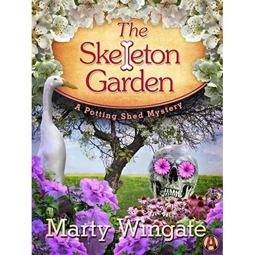 The skeleton garden potting shed mystery 4 by marty for Garden shed jokes