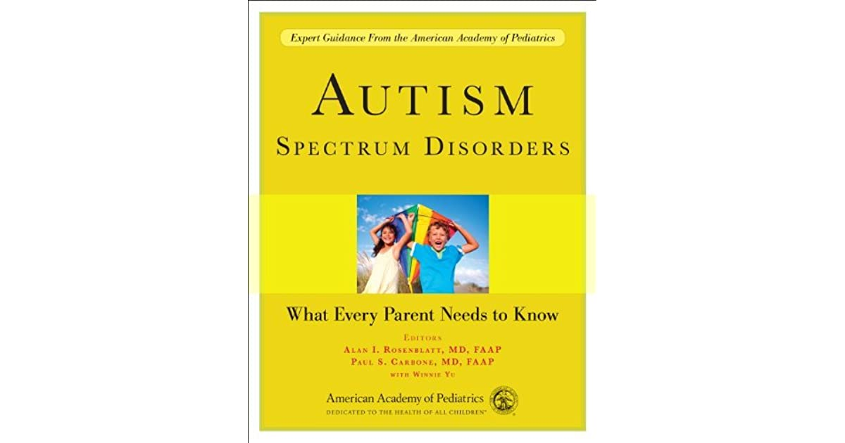 autism spectrum disorders General overviews several valuable resources can help in providing an introduction to autism spectrum disorders lord and bishop 2010 is a very readable and up-do-date description of asds with a thoughtful exploration of issues related to diagnosis, prevalence, interventions, and policy.