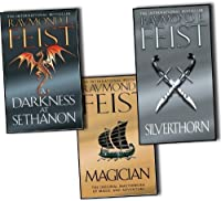Raymond E. Feist Riftwar Saga 3 Books Collection Set (Magician, A Darkness at Sethanon, Silverthorn)