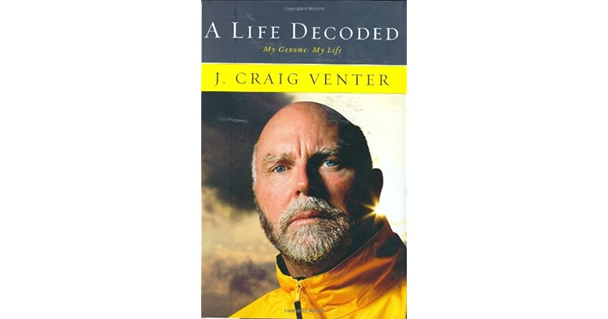 a life decoded venter j craig