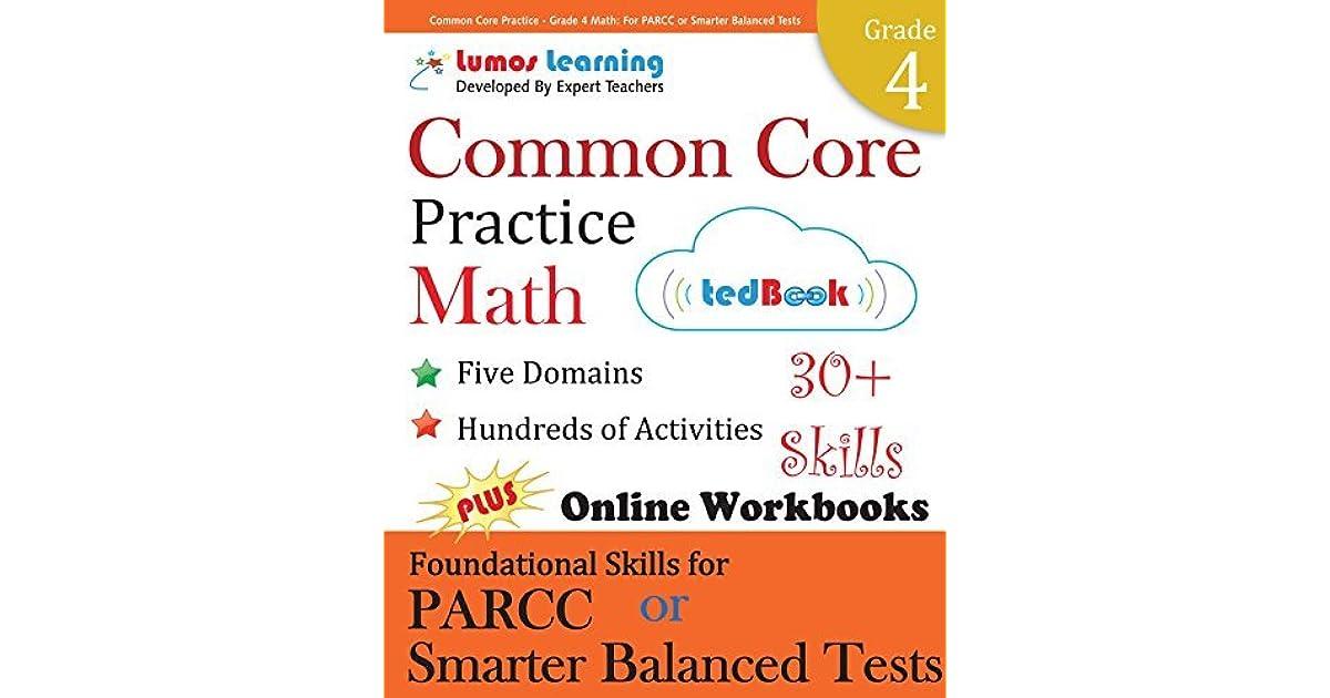 Common Core Practice - Grade 4 Math: Workbooks to Prepare for the