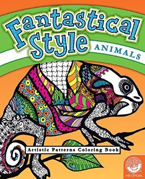 MindWare® Fantastical Styles: Ocean Adult Coloring Book - Discontinued | 355x288