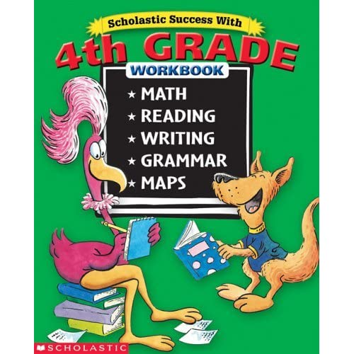 Scholastic Success with 4th Grade Workbook by Terry Cooper