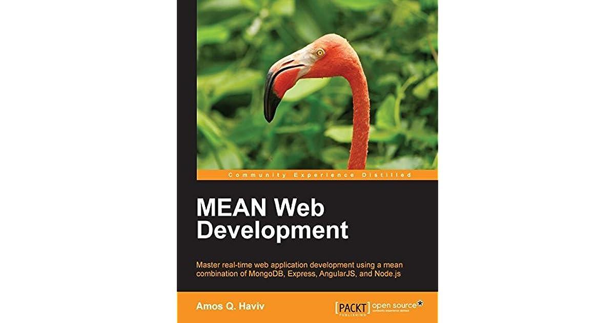 MEAN Web Development by Amos Q  Haviv