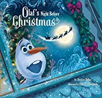 Frozen Olaf's Night Before Christmas Book & CD by Walt Disney Company