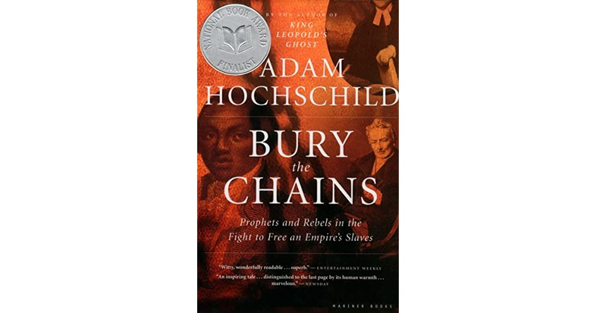 a review of adam hochschilds book king leopolds ghost Bury the chains by adam hochschild adam hochschild's acclaimed account of the belgian congo, king leopold's ghost  this is a wonderful book.