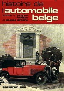 Histoire de l'automobile belge