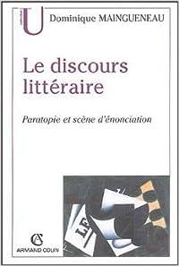 discours littéraire: paratopie et scène d'énonciation
