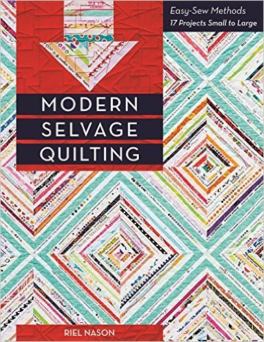 Modern Selvage Quilting Easy-Sew Methods