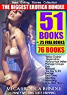 EROTICA: SHORT STORIES TABOO SEX BUNDLE 51 DIRTY ROMANCE GROUP MENAGE (Bonus 25 Adult Free Erotica Books Collections Box Sets): Threesome Stepbrother MFM ... Bad Boy Baby Novella 2 3 Milf Step Book 1)