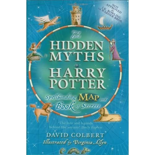 Harry Potter Book Goodreads : The hidden myths in harry potter spellbinding map and