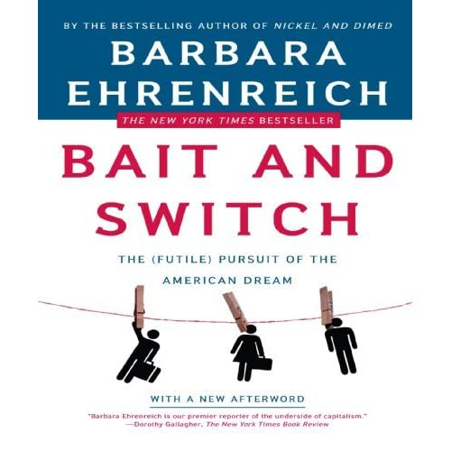 """book review of bait and switch Are you using the right bait and what about the line the new york times book  review published an interesting essay – """"how writers build."""