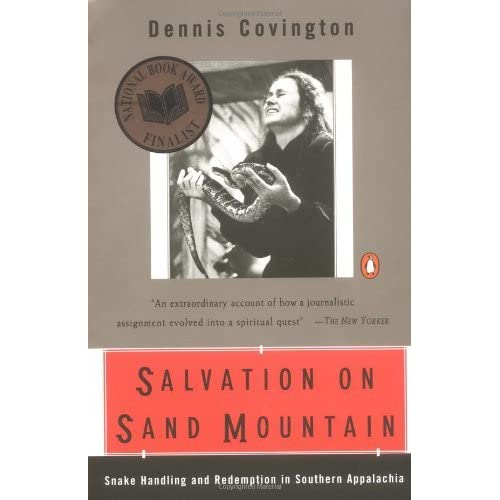 an analysis of dennis covingtons spiritual journey throughout salvation on sand mountain Dennis covington was born in birmingham, alabama, in 1948 in salvation on sand mountain he describes going to a relatively tame methodist church when he was growing up, though the church was often visited by firey, pentecostal type preachers.