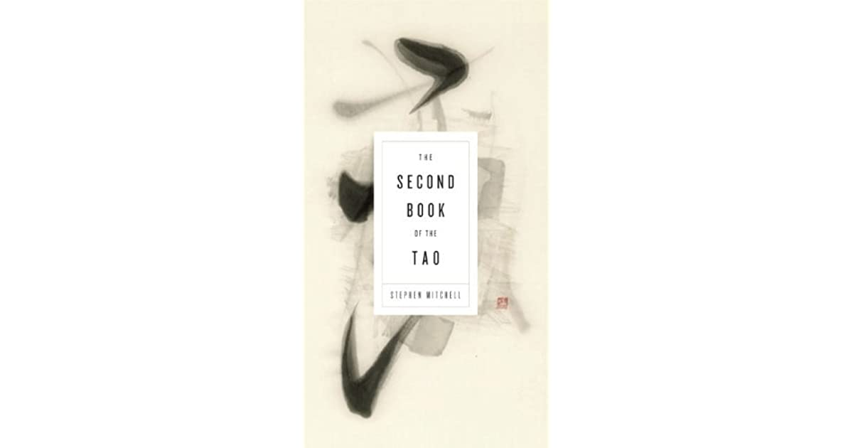 The second book of the tao by stephen mitchell fandeluxe Image collections