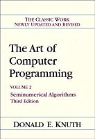 The Art of Computer Programming, Volume 2: Seminumerical Algorithms