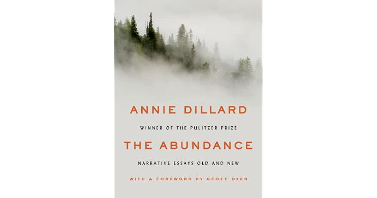 annie dillard the deer at providencia essay In the deer at providencia, annie questions suffering on earth and why it happens she also argues in the essays that what people do on earth does not change god, but it changes the people themselves teaching a stone to talk,  a field of silence, and god in the doorway also address religious and spiritual questions and themes.