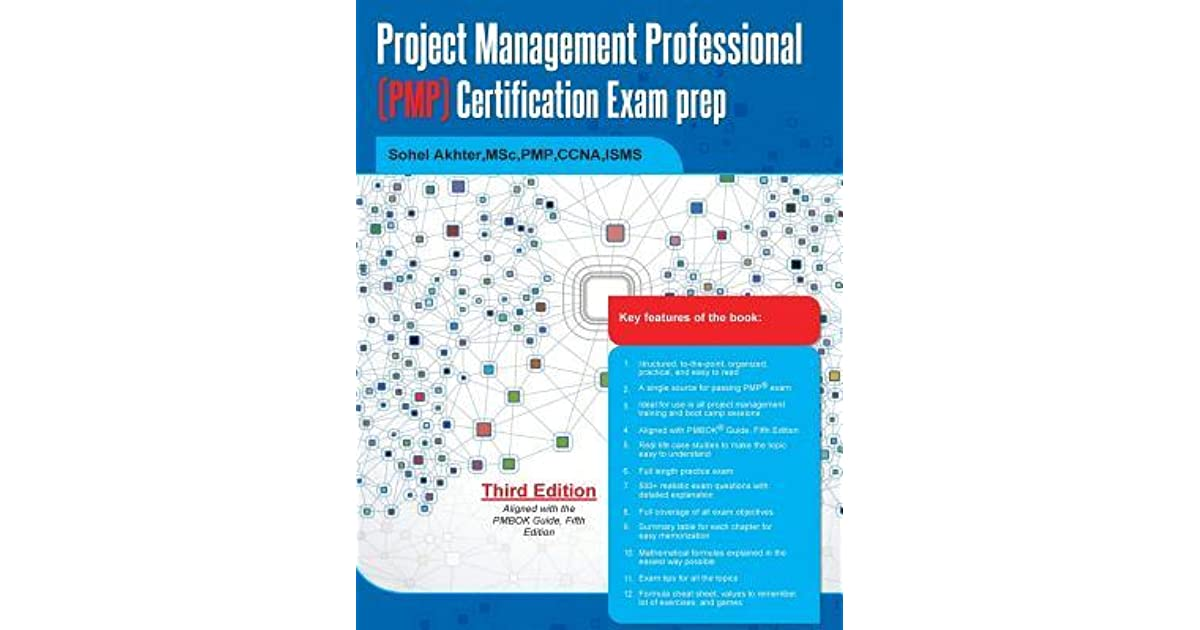 Project Management Professional Pmp Certification Exam Prep By