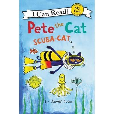 Pete the Cat: Scuba-Cat by James Dean