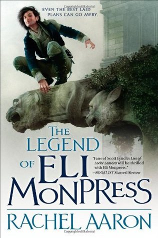 Jacket cover for The Legend of Eli Monpress by Rachel Aaron