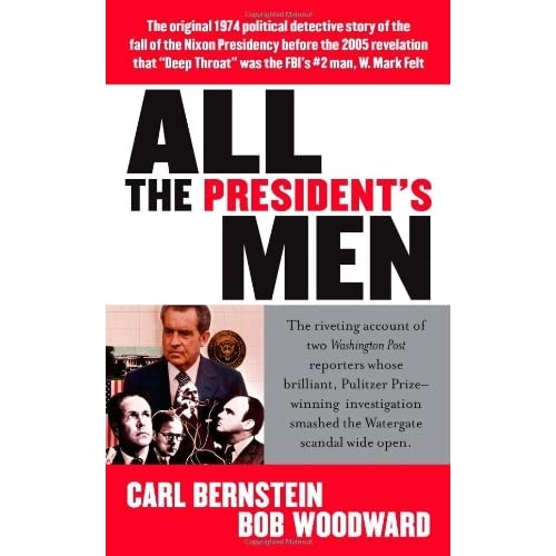 the character of deep throat in the book all the presidents men by carl bernstein and bob woodward