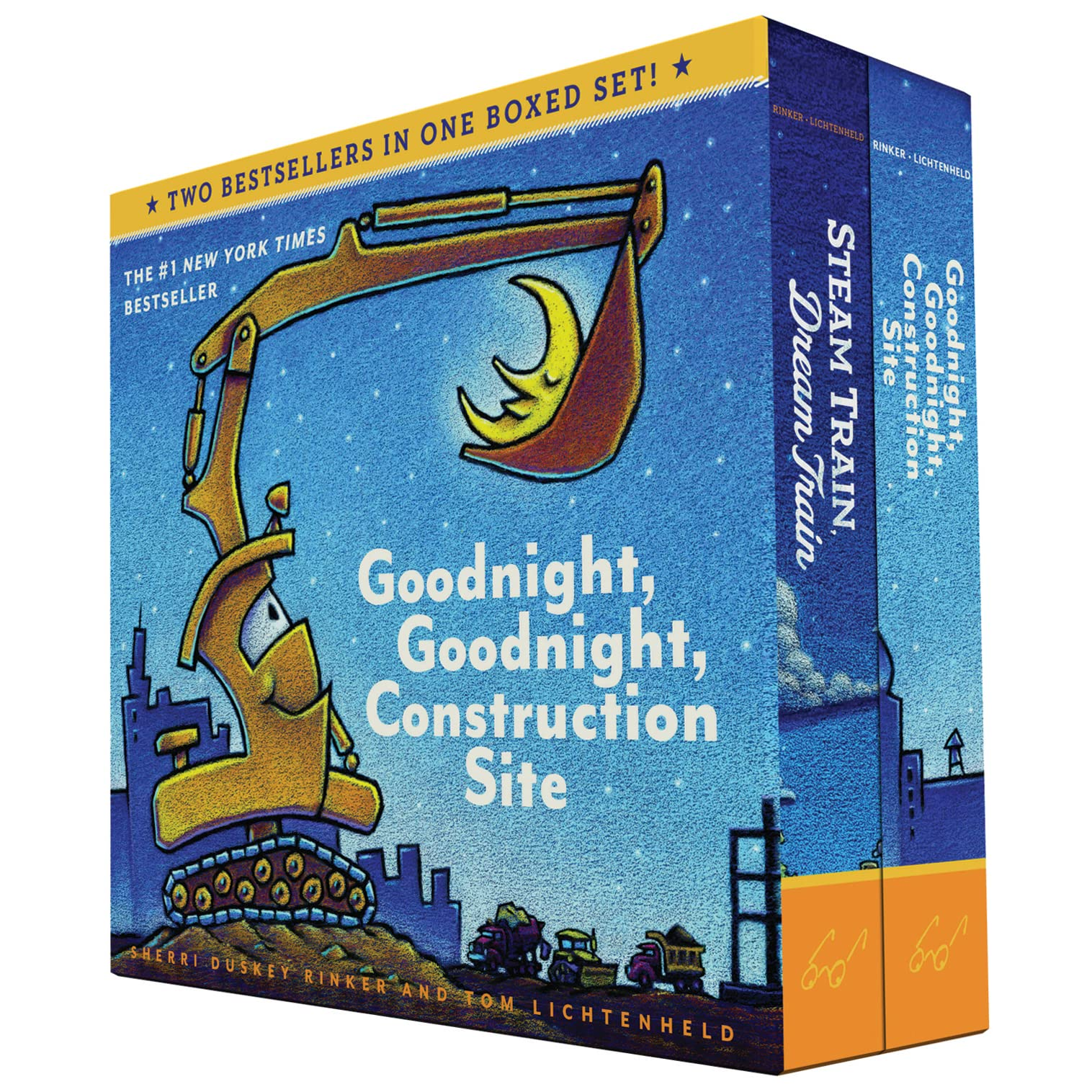 Construction Site Boards: Goodnight, Goodnight, Construction Site And Steam Train
