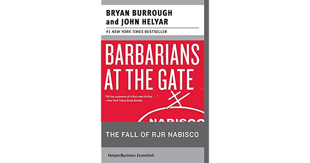 barbarians at the gate summary