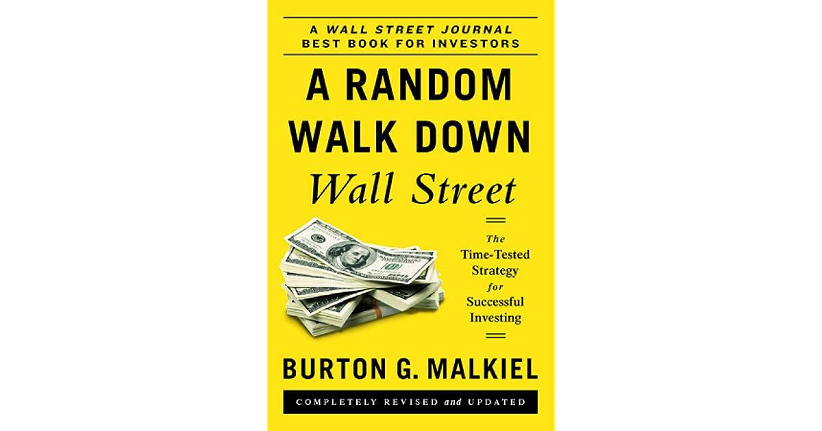 A random walk down wall street by burton g malkiel fandeluxe Images