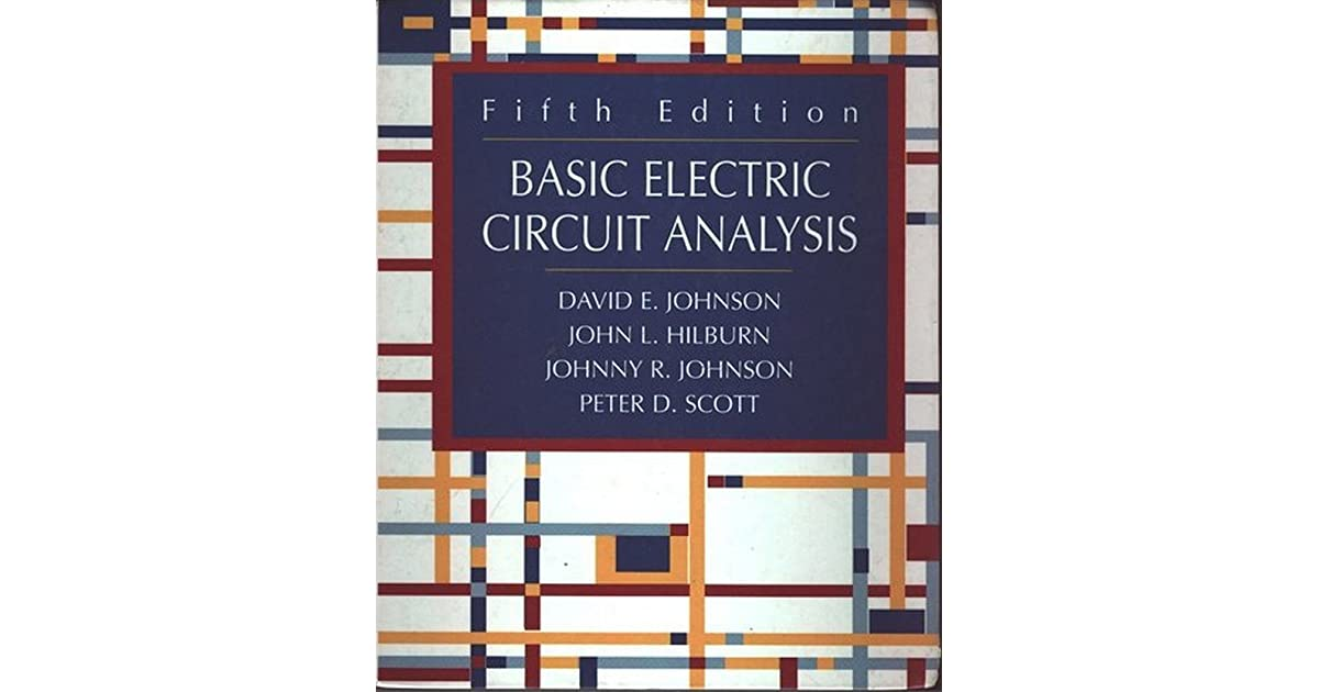 Electric Circuit Analysis Book