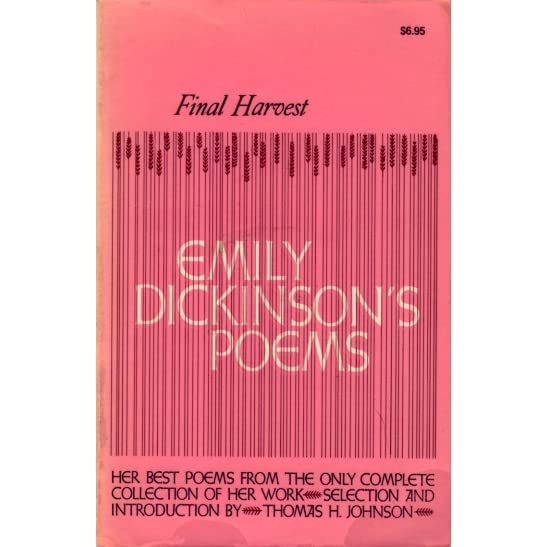 Final Harvest: Emily Dickinson's Poems by Emily Dickinson