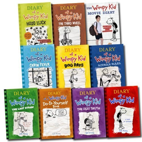 Jeff kinney 10 books set diary of a wimpy kid collection hard luck jeff kinney 10 books set diary of a wimpy kid collection hard luck movie di by jeff kinney solutioingenieria Gallery