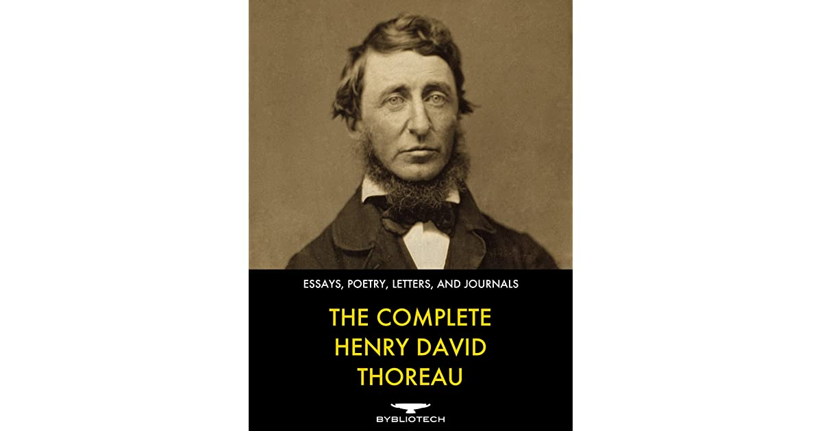 dialectical journals on henry david thoreau Peer into the private journals of henry david thoreau in celebration of thoreau's 200th birthday, a new exhibition at the morgan library & museum showcases his.