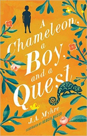 A Chameleon, a Boy, and a Quest (The Rwendigo Tales #1)