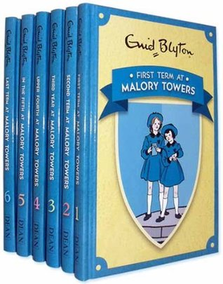 Enid Blyton's Malory Towers 6 Books Collection, 1 First Term at Malory Towers, 2 Second Form at Malory Towers , 3 Third Year at Malory Towers , 4 Upper Fourth at Malory Towers , 5 In the Fifth at Malory Towers , 6 Last Term at Malory Towers (Malory Tower