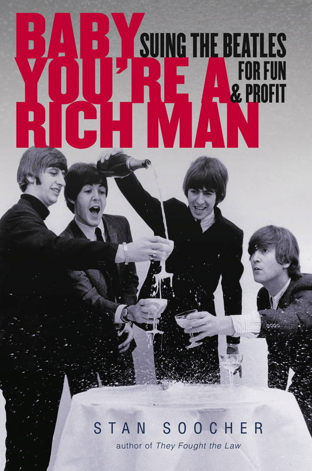 Baby You're a Rich Man Suing the Beatles for Fun and Profit