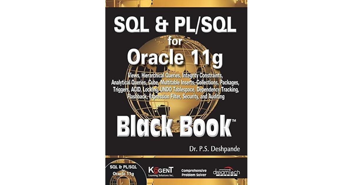 Pdf pl sql black book