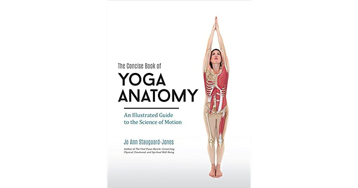 Illustrated Book Cover Yoga : The concise book of yoga anatomy an illustrated guide to