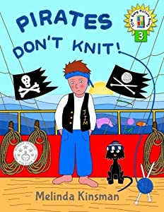 Pirates Don't Knit!: U.S. English Edition - Funny Rhyming Bedtime Story - Picture Book / Beginner Reader, About Being Yourself (Ages 3-7): Volume 3 (Top of the Wardrobe Gang Picture Books)