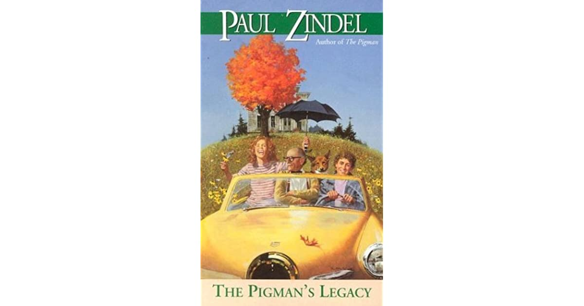 a summary of the pigman by paul zindel