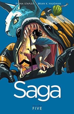 Saga, Vol. 5 by Brian K. Vaughan