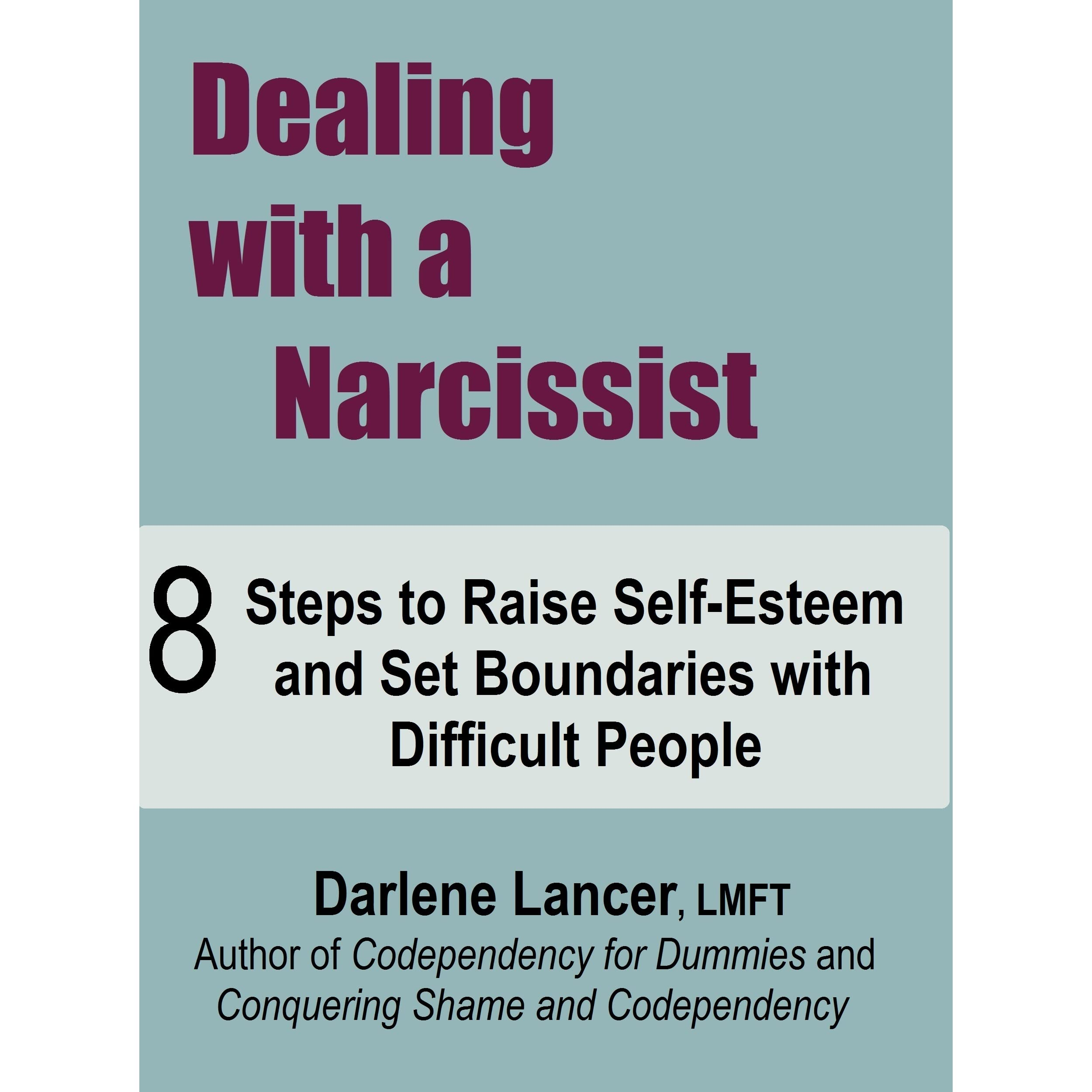 How To Successfully Handle Narcissists Ebook