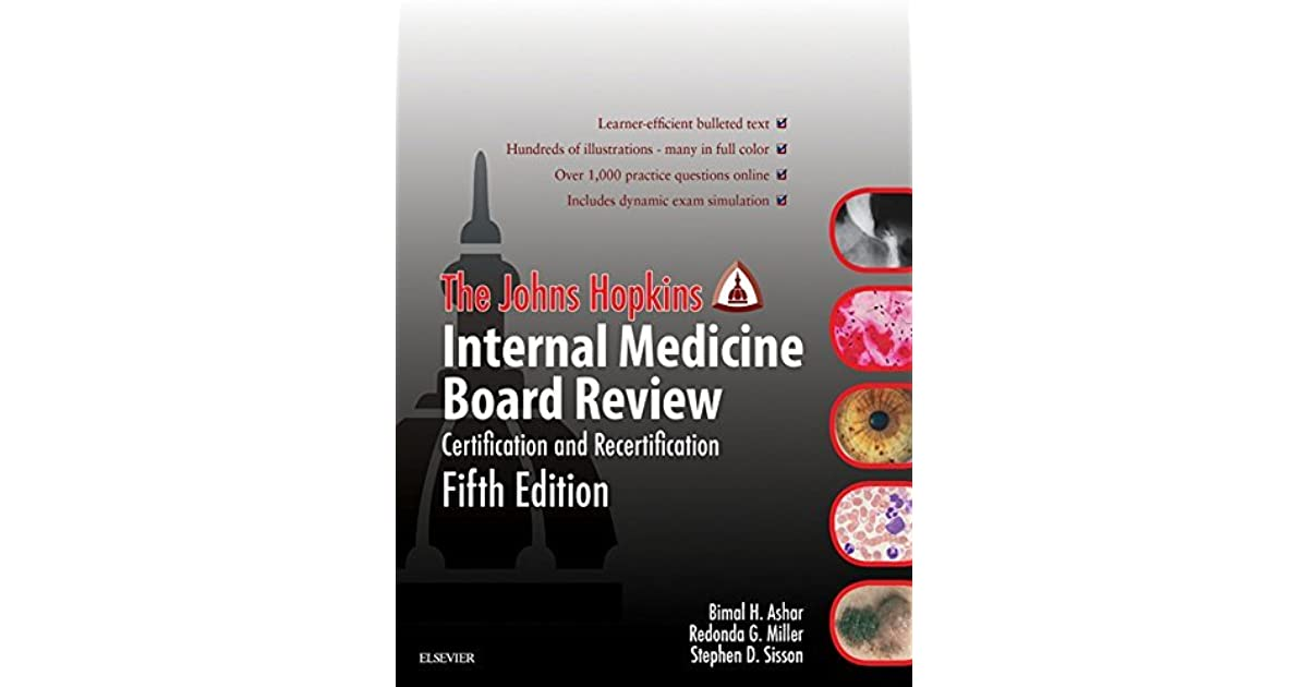 Johns Hopkins Internal Medicine Board Review Certification And