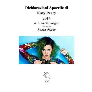 Dichiarazioni Apocrife Di Katy Perry 2014