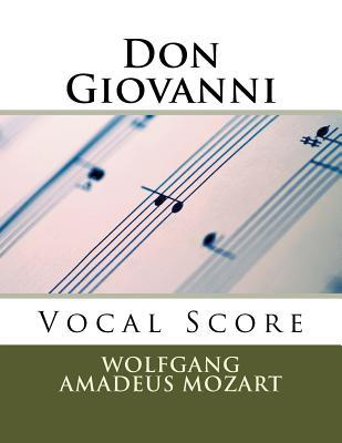 Don Giovanni - Vocal Score (Italian and English): Schirmer Edition