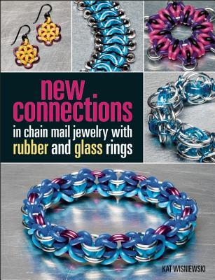 New Connections: Add rubber & glass to chain mail jewelry