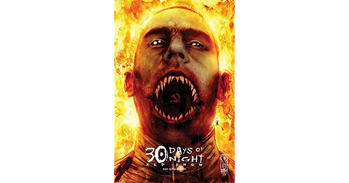 30 Days Of Night Red Snow 3 By Ben Templesmith