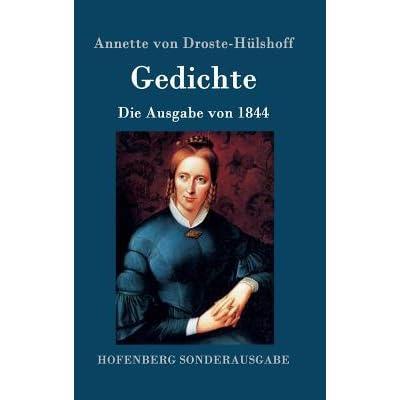 Gedichte By Annette Von Droste Hülshoff