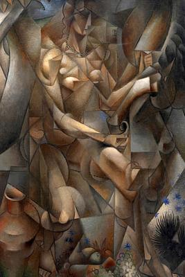 Woman with a Horse (Jean Metzinger): Blank 150 Page Lined Journal for Your Thoughts, Ideas, and Inspiration  by  NOT A BOOK