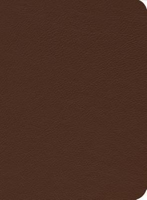 ESV Reformation Study Bible, Brown, Montana Cowhide by R.C. Sproul